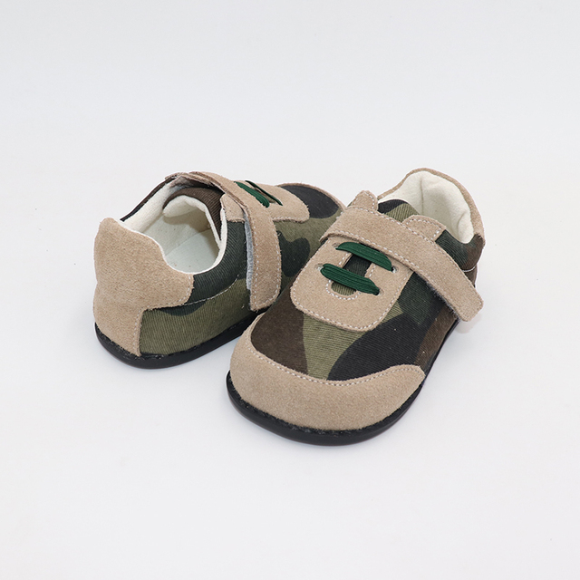 TipsieToes Top Brand High Quality Genuine Leather Stitching Kids Children Shoes Barefoot For Boys 2020 Spring New Arrival 6