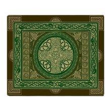 Односторонний кельтский крест Одеяло/Гобелены мягкого флиса Пледы Одеяло мягкие фланелевые Одеяло на для кровать/автомобиля портативный пледы