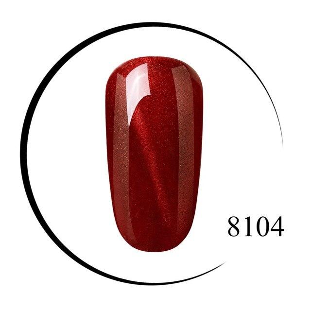 Elite99 Wein Rote Katze Auge Gel Lack 10 ml Tränken Weg Vom UV LED Nail art Gel Lack 3D Katze Auge wirkung Benötigen Magnet Nagel Gel Polnisch