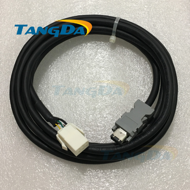 MFECA0030EAM 2/3/5/8/10 Encoder feedback cable for pana-sonic 750w servo motor MHMD082G1U MCDHT3520E A5 Wire for Panasonic A. communication cable for servo drive mr cpcatcbl3m cable mr j2s a
