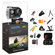 "Original EKEN H9/H9R Action Camera 4K Ultra HD 1080p/60fps Mini Helmet Cam WiFi 2.0"" 170D Waterproof Sport Camera(China)"