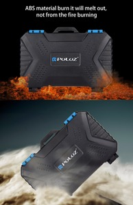 Image 5 - PULUZ カードリーダー + 22 で 1 防水メモリ/SD カード収納ボックス 1 標準 SIM + 2Micro SIM + 2Nano SIM + 7SD + 6TF + 1 カードピン