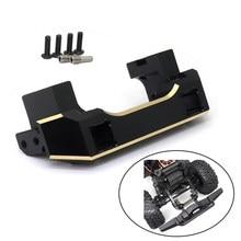 Support Servo avant en cuivre pur TRX4, pour voiture sur chenilles RC 1/10 1:10 Traxxas TRX-4 TRX 4, pièces de mise à niveau, nouveau