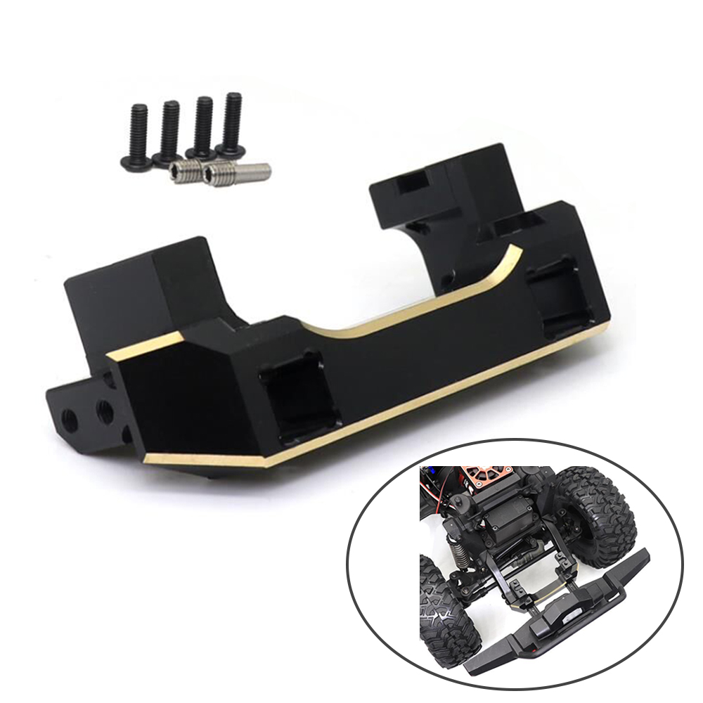 NEW Pure Copper TRX4 Front Servo Stand for 1/10 1:10 RC Crawler Car Traxxas TRX-4 TRX 4 Upgrade Parts image