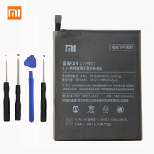 Xiaomi Original BM34 Mi Note Pro Phone battery For 4GB RAM 3010mAh Lithium Polymer Battery