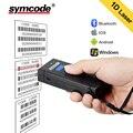 Bluetooth сканер штрих-кода 1D лазерный Портативный USB Bluetooth 2,4G беспроводной считыватель штрих-кодов беспроводной передачи расстояние 100 метров