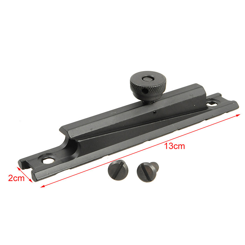 Military Tactical AR15 M16 20mm Scope Mount Weaver Rail for Carry Handles Quick Release Airsoft Hunting Accessories ...