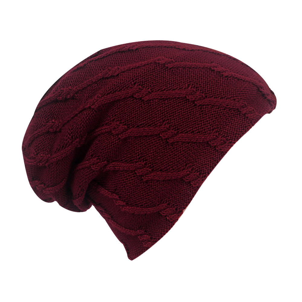 Women Knit Beanie Men Women Warm Cap Knitted Skiing Snow Warm Beanies Skullies Cap Hats Slouchy Head Caps Pashmina Cashmere -16
