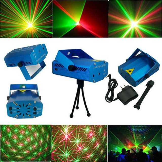Portable multi LED bulb All strat music Laser Stage Lights Lighting Adjustment DJ Party Home Wedding Club Projector rg mini 3 lens 24 patterns led laser projector stage lighting effect 3w blue for dj disco party club laser