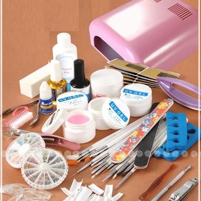 nail art manicure decoration 36w uv pink dryer lamp 30