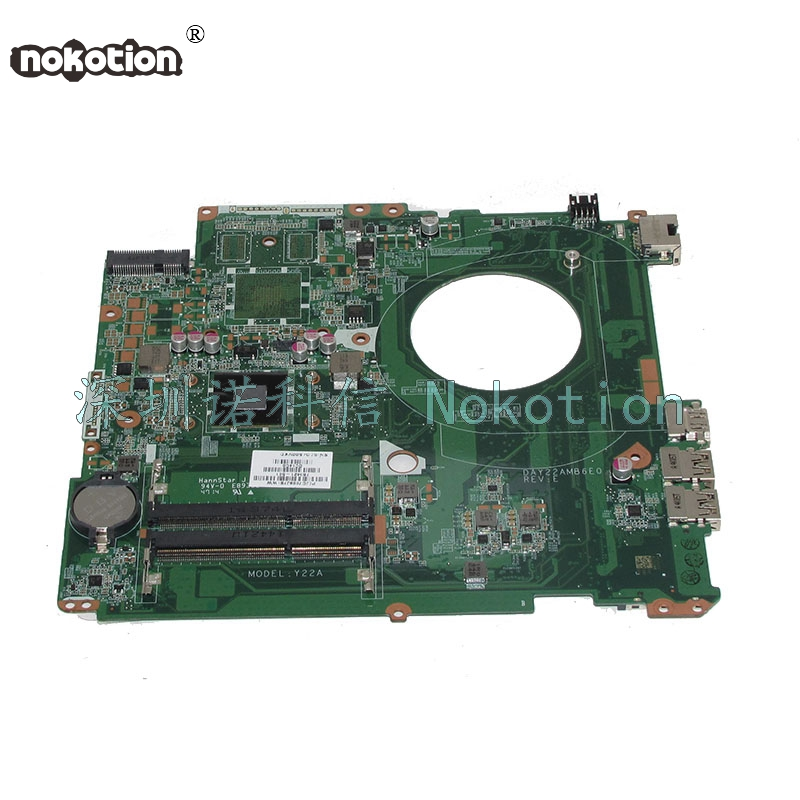 NOKOTION DAY22AMB6E0 763421-501 763421-001 Main board  For HP Pavilion 17 17-F Laptop motherboard A4-6210 CPU Works 762526 501 main board for hp pavilion 15 p day22amb6e0 laptop motherboard ddr3 am8 cpu