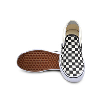 Original Vans Classic Black and White Grid Unisex Skateboarding Shoes sports Shoes Canvas Shoes Sneakers free shipping