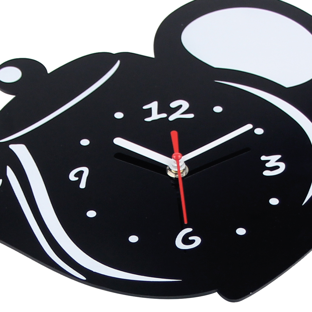 New Arrival Wall Clock Mirror Effect Coffee Cup Shape ...