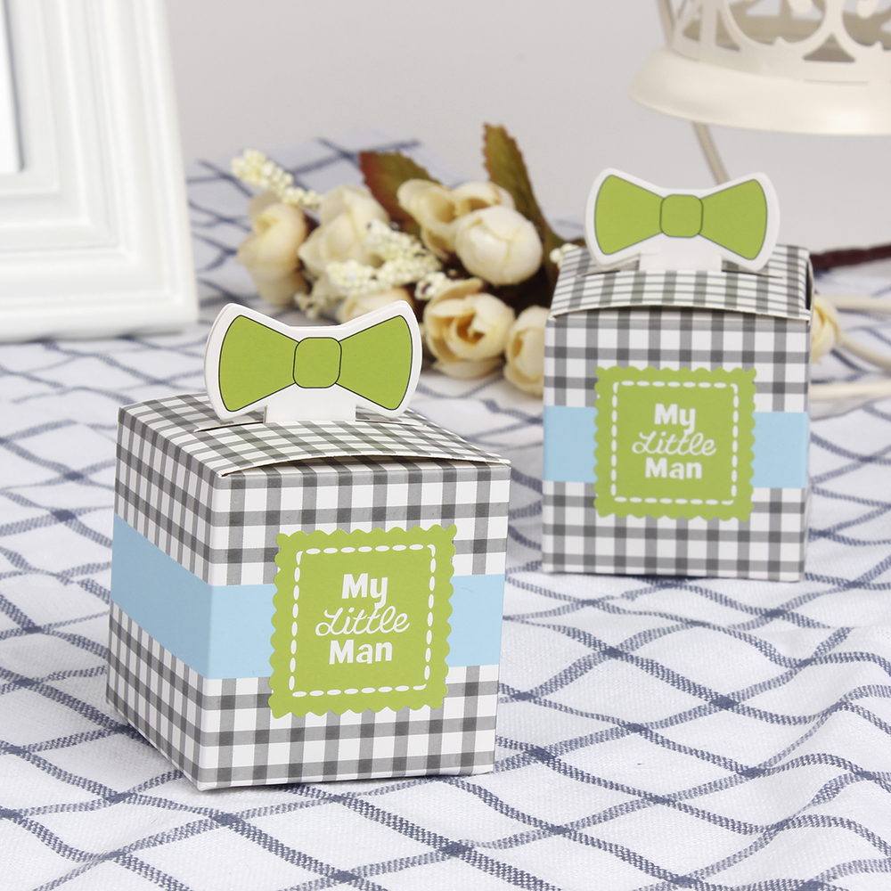 12pcs My Little Man Baby Shower Baptism Christening Birthday Gift
