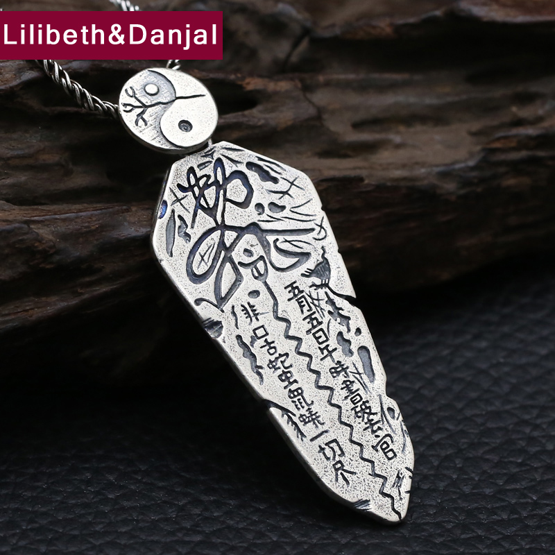 Jewelry & Accessories Sensible 2017 New Buddha Couple Pendant 925 Sterling Silver Ethnic Lucky Peace Symbol Necklace Pendant Men Women Gift Fine Jewelry Fp11 Fine Jewelry