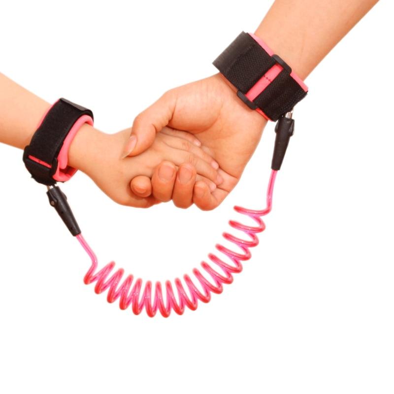 Kinder Baby Sicherheit Anti-verlorene Link Band Gürtel Walking Assistant Armband