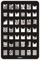 14.5*9.5 СМ Конструкции Способа DIY Ногтей Красоты Nail Art Image Stamp Штамповка Плиты 3D Nail Art Шаблоны Трафареты маникюр Инструменты