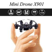 X901 MJX RC Quadcopter 2.4G 4 H 6-Axis Gyro Mini RC Drone Hexacopter con Rollo 3D Sensor de Gravedad Sin Cabeza modo