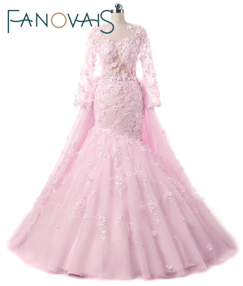 Designer Wedding Gowns: Pink Luxury Wedding Dresses 2017 New Designer Wedding