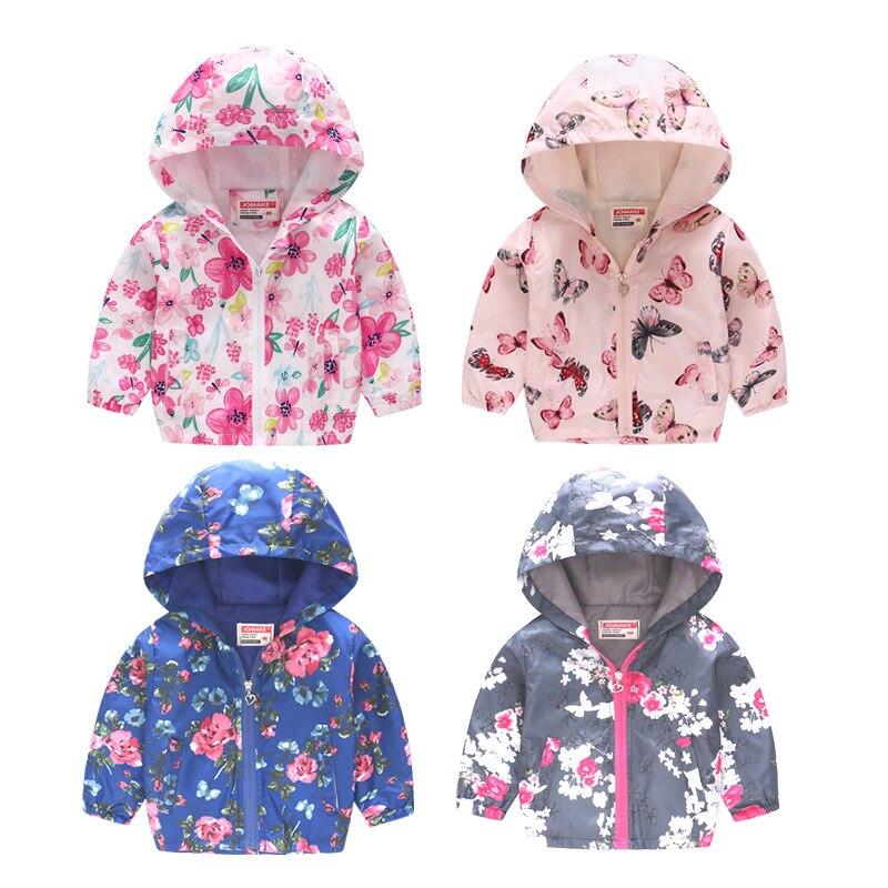 90-130cm lindo dinosaurio primavera niños otoño niños chaqueta niños abrigo activo niño niña cortavientos ropa de bebé ropa