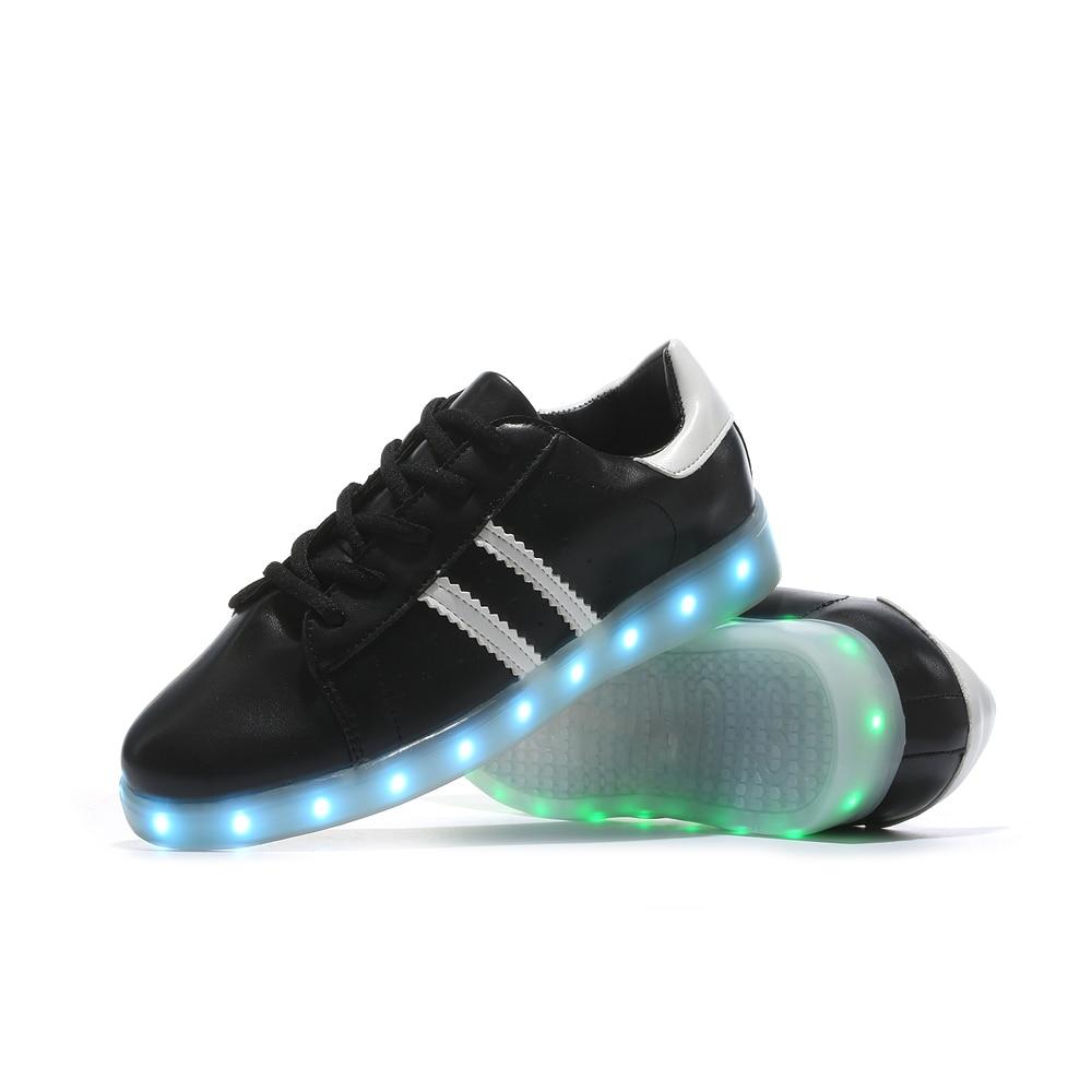 new 2017 fashion light up shoes mens luminous mans shoes led for adults schoenen men casual. Black Bedroom Furniture Sets. Home Design Ideas