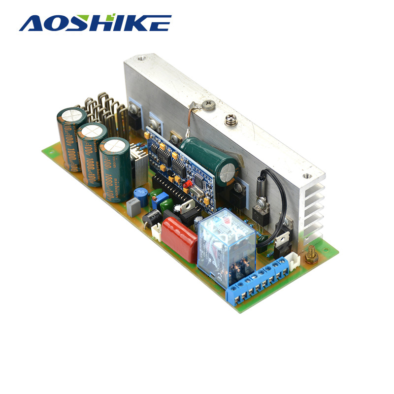 Aoshike 12V-48V 1000W Pure Sine Wave Power Frequency Inverter Board With AC Conversion Function new arrival 220v pure sine wave power frequency inverter board 24v 36v 48v 60v 1500w 2200w 3000w 3500w hot selling