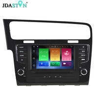 JDASTON 2 Din 8 Inch ANDROID 6 0 1 Car DVD Player For Volkswagen VW Golf
