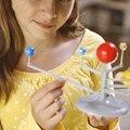 Diy explorar nove planetas do sistema planetário de ensino brinquedos educativos