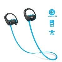 Ralyin Bluetooth Headphones Sport bluetooth Mp3 Player Wireless Earbuds Bluetooth earphone 8GB Memory Storage Waterproof Mic