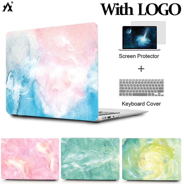 Laptop Case Cover for Macbook Pro 13.3 15.4 inch Pro Retina 12 13 15 with New Touch Bar For Macbook Air 13 11 Case