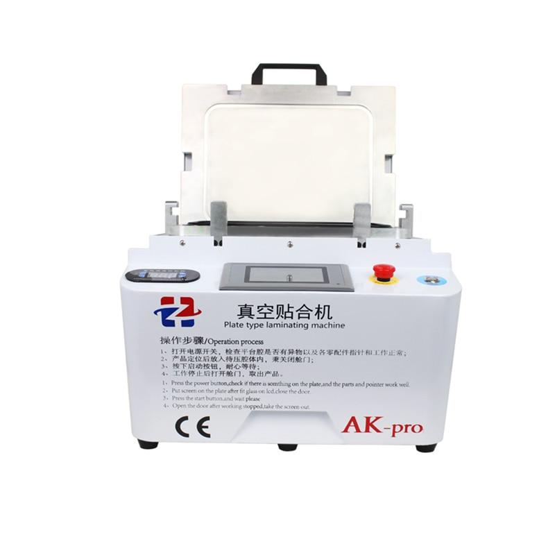 AK PRO Vacuum Lamination Machine OCA laminator Air bubble Remover Machine For LCD refurbish for iPhone Samsung iPad Repair