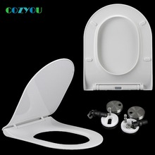 COZYOU U shape Toilet seat Ultra-thin lid quickly remove D type Slow Close Length 425mm - 480mm, Width 355mm - 365mm GBP17327SU