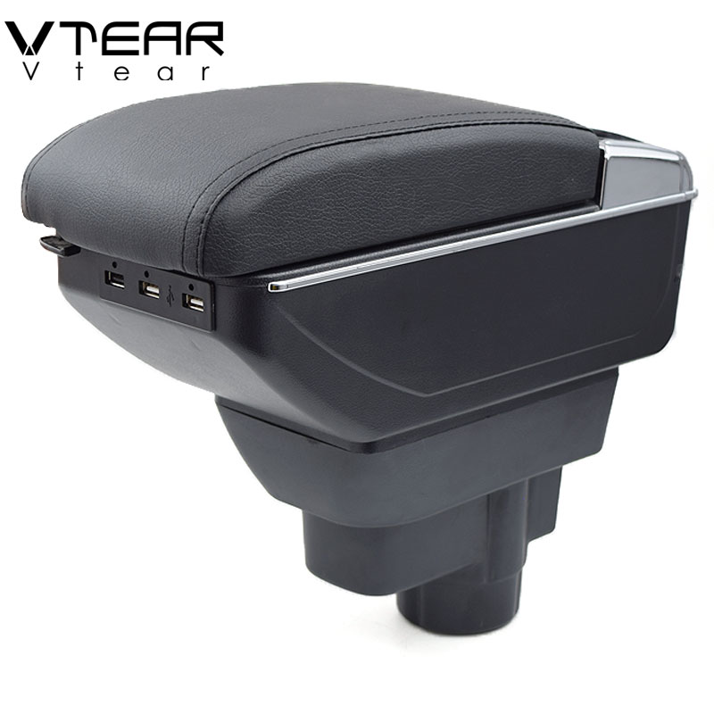 Automobiles & Motorcycles Popular Brand Vtear For Kia K2 Rio 3 Armrest Box Central Store Content Box With Cup Holder Products Interior Car-styling Accessories 2011-2016 Auto Replacement Parts