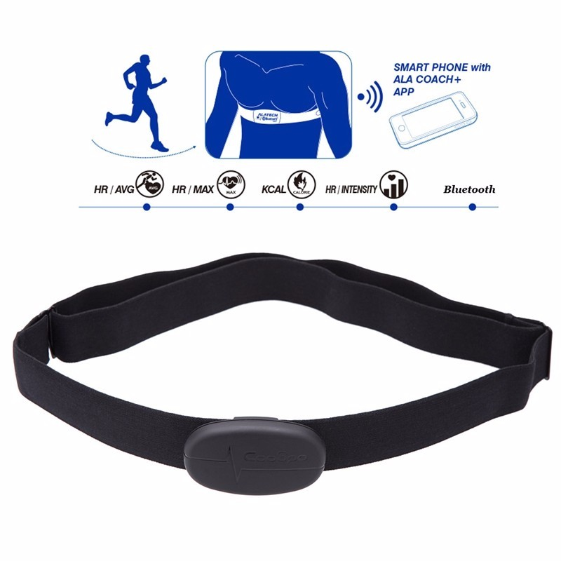 Bluetooth V4.0 Wireless Sport Heart Rate Monitor Fitness CooSpo H6 ANT Smart Sensor Chest Strap for iphone 6 6s xiaomi samsung (3)