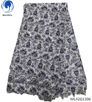 BEAUTIFICAL guipure lace fabric lace fabrics beautiful lace fabric for garment 5yards/piece clothes women best product ML42G13