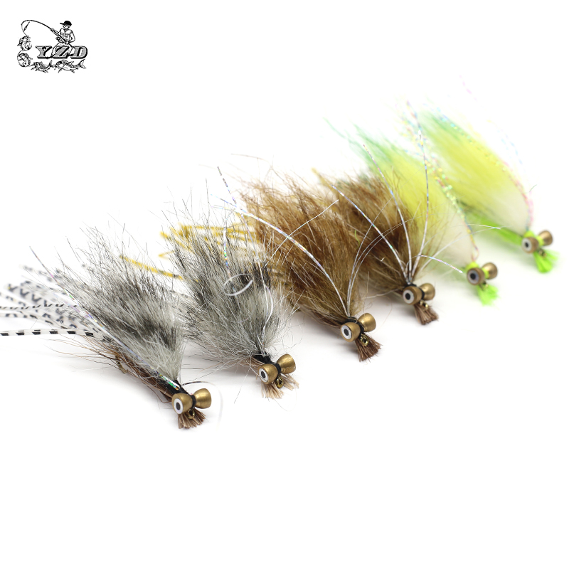 Image 3 - Wet Dry Nymph Fly Fishing Flies Set Fly Lure Kit Boobies Egg Flies for Big Rainbows Brown Trout Salmon Bait Fly Tying Flyfishing-in Fishing Lures from Sports & Entertainment