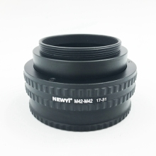 цена на NEWYI M42-M42(17-31mm) Mount Adjustable Focusing Helicoid Adapter 17-31mm Extension accessory