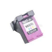 UP 1PK Замена для hp 901 XL цветные чернильные картриджи для hp 4500 J4580 J4550 J4540 J4680 J4535 J4585 J4624 J4660 принтер