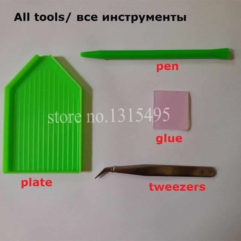 Қолөнер DIY Алмаз кескіндеме үйі - Өнер, қолөнер және тігін - фото 3