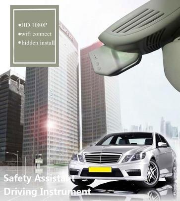 PLUSOBD For Benz E W212 Dash Camera In Car Video Camera Full HD 170 Wide Car DVR Hidden Wifi Car Camera 1080P With Loop Record триколор full hd e 212
