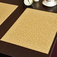 HARTING кожаной подставки для столовых приборов мозаики стиль крокодил картина стол коврик изоляции колодки мат декоративные подставки под Кофе