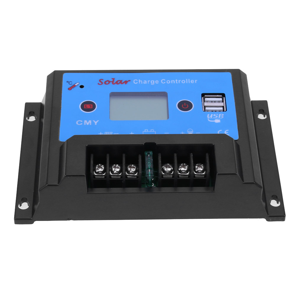 Cmy-2420 12/24 В 20A USB ЖК-дисплей Дисплей smart солнечной заряд регулятор Температура компенсации за Свет Солор systerm