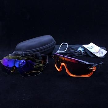 8386c6f246 Polarizada 5 lente ciclismo gafas de sol UV400 montaña bicicleta de carretera  gafas 2019 deporte montar