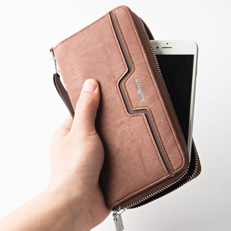 NEW Brand Business Wallet Purse coin pocket Fashion Cell Phone Pocket Wallet Clutch Long Wallet Hand Bag Card Holder carteira double layer zipper wallet coin purse cell phone storage pouch bag w hand strap deep pink page 6