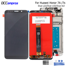 5.45 For Huawei Honor 7A 7S LCD Display Touch Screen Digitizer For Honor 7A 7S Screen LCD With Frame DUA-L02 DUA-L22 DUA-LX2 цена