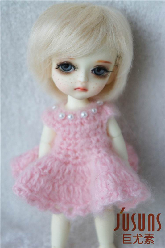 JD071 1/8 BJD doll wigs Lati yellow mohair wig 5-6inch Boy short cut wig for Lati doll,tiny doll accessories champagne fur wigs available for 1 3 1 4 1 6 bjd sd wigs short wig for diy dollfie doll accessories