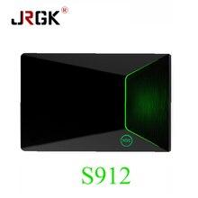 JRGK M9S Z9 2GB/16GB Android 6.0 Amlogic S912 Mini PC LAN 1000M WIFI 2.4G+5G+Bluetooth VP9 H.265 UHD 4K Smart IPTV box