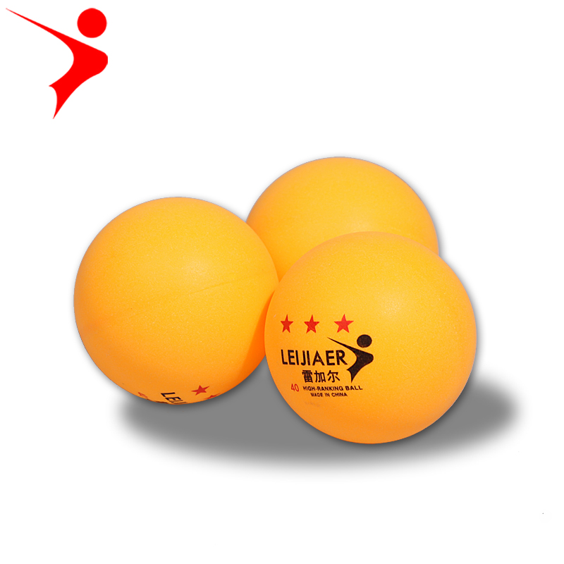 Leijiaer 12 3 star 40mm table tennis ball ping pong ball for 1 star table tennis balls