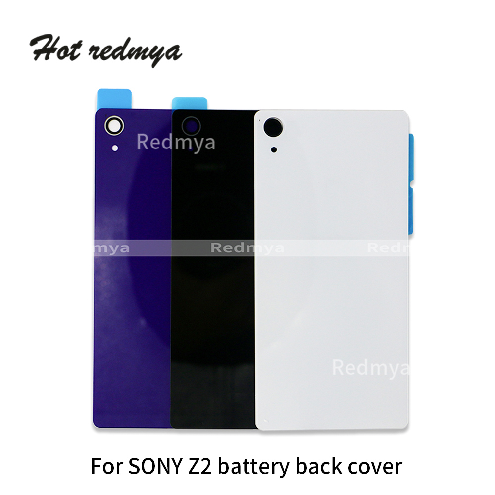Back Housing Battery Cover For Sony Xperia Z2 L50W D6543 D6502 D6503, Z4 E6553 E6533 Battery Back Cover Rear Cover Housing Cases