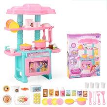 Disney замороженные ролевые игры Детская Посуда кухня игрушка Моделирование для готовки посуда набор для девочек игрушечные лошадки